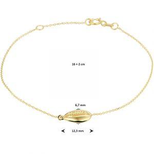 040-22571K Armband Schelp