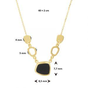 040-22579K Collier Onyx