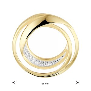 040-22755K Hanger Rond Diamant