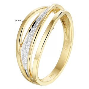 040-22762K Ring Diamant