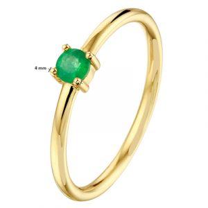 040-22803K Ring Smaragd