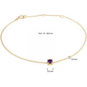 040-22808K Armband Saffier