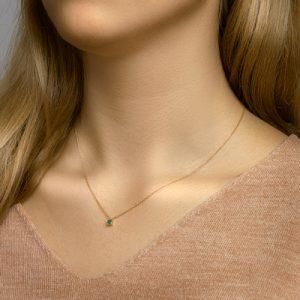 040-22813K Collier Smaragd