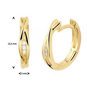 040-22845K Creolen Diamant
