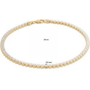 040-22875K Tennisarmband zirkonia GG
