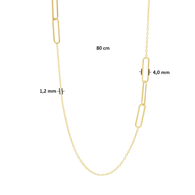 040-22895K Collier paperclip GG