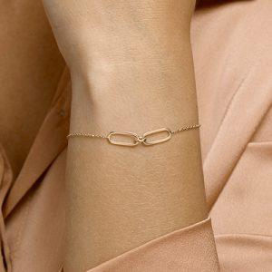040-23025K Armband paperclip GG