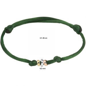 047-00119K Armband Rondje Tri-color