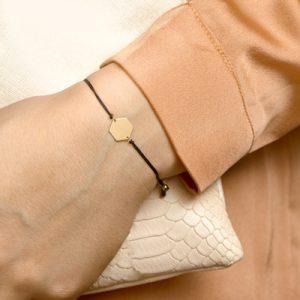 047-00133K Armband Zeshoek