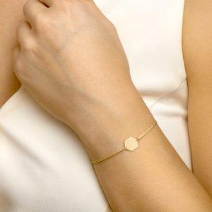047-00143K Armband Zeshoek