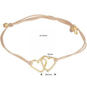 047-00151K Armband Hartjes