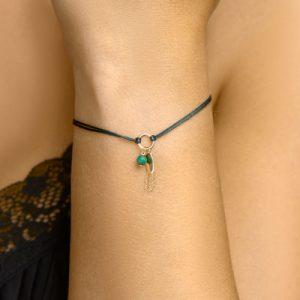 047-00163K Armband Malachite