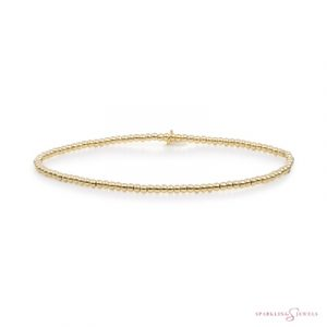 SB-G-2MM-ADD Sparkling Jewels Armband