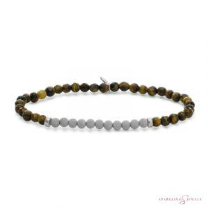 SB-GEM09-3MM-CHAM Sparkling Jewels Armband