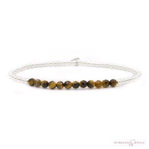 SB-GEM09-3MM-LINE Sparkling Jewels Armband