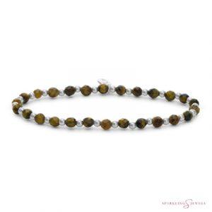 SB-GEM09-3MM-MIX Sparkling Jewels Armband