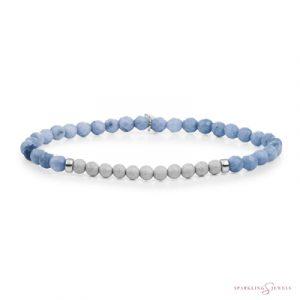 SB-GEM37-3MM-CHAM Sparkling Jewels Armband