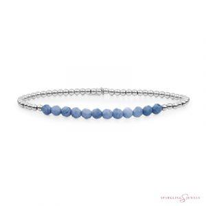 SB-GEM37-3MM-LINE Sparkling Jewels Armband