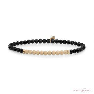 SBG-GEM07-3MM-CHAM Sparkling Jewels Armband