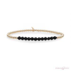 SBG-GEM07-3MM-LINE Sparkling Jewels Armband