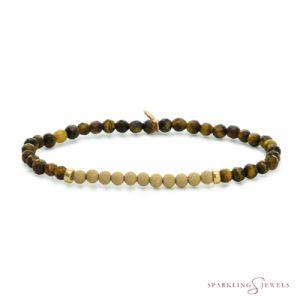 SBG-GEM09-3MM-CHAM Sparkling Jewels Armband