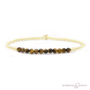SBG-GEM09-3MM-LINE Sparkling Jewels Armband