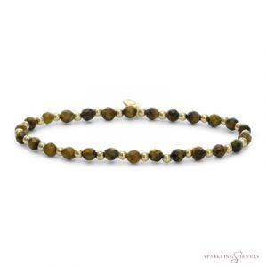 SBG-GEM09-3MM-MIX Sparkling Jewels Armband