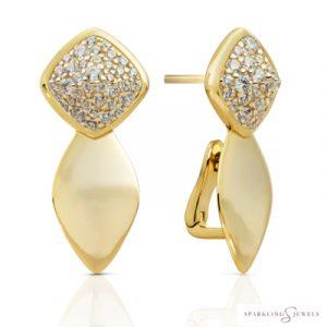 EAG05-CZ Sparkling Jewels Oorbellen