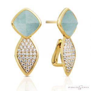 EAG06-G12 Sparkling Jewels Oorbellen