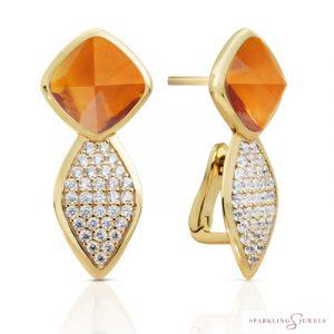 EAG06-G38 Sparkling Jewels Oorbellen