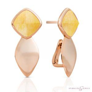 EAR05-G30 Sparkling Jewels Kwarts