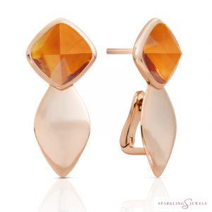 EAR05-G38 Sparkling Jewels Kwarts