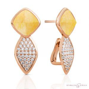 EAR06-G30 Sparkling Jewels Kwarts