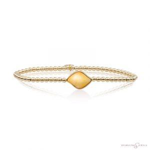 SB-G-3MM-BSG30 Sparkling Jewels Armband