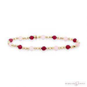 SB-G-MIX-SQ02 Sparkling Jewels Armband