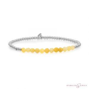SB-GEM30-3MM-LINE Sparkling Jewels Armband