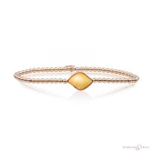SB-RG-3MM-BSG30 Sparkling Jewels Armband