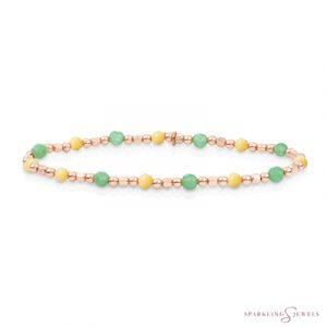 SB-RG-MIX-SQ01 Sparkling Jewels Armband
