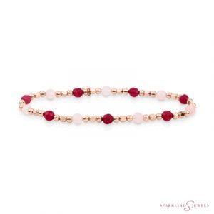 SB-RG-MIX-SQ02 Sparkling Jewels Armband