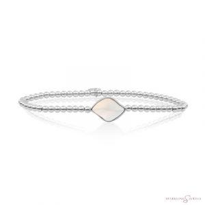 SB-S-3MM-BSG14 Sparkling Jewels Armband