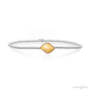 SB-S-3MM-BSG30 Sparkling Jewels Armband