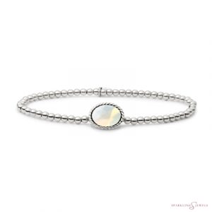 SB-S-3MM-TG14 Sparkling Jewels Armband