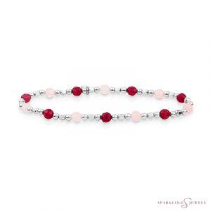 SB-S-MIX-SQ02 Sparkling Jewels Armband