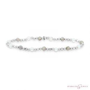 SB-S-MIX-SQ04 Sparkling Jewels Armband
