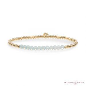 SBG-GEM14-3MM-LINE Sparkling Jewels Armband