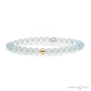 SBG-GEM14-ADD-6MM Sparkling Jewels Armband