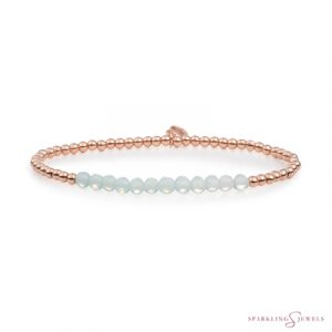 SBRG-GEM14-3MM-LINE Sparkling Jewels Armband
