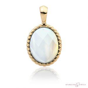 SPG21-G14 Sparkling Jewels Pendant Opaliet
